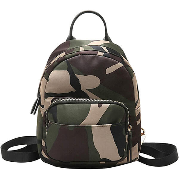 Tear Resistant Camouflage Mini Backpack