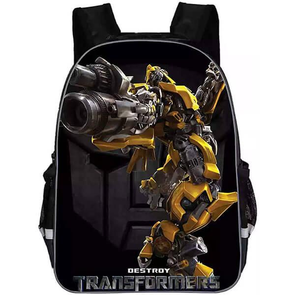 Transformers Book Bag with Headphone Jack