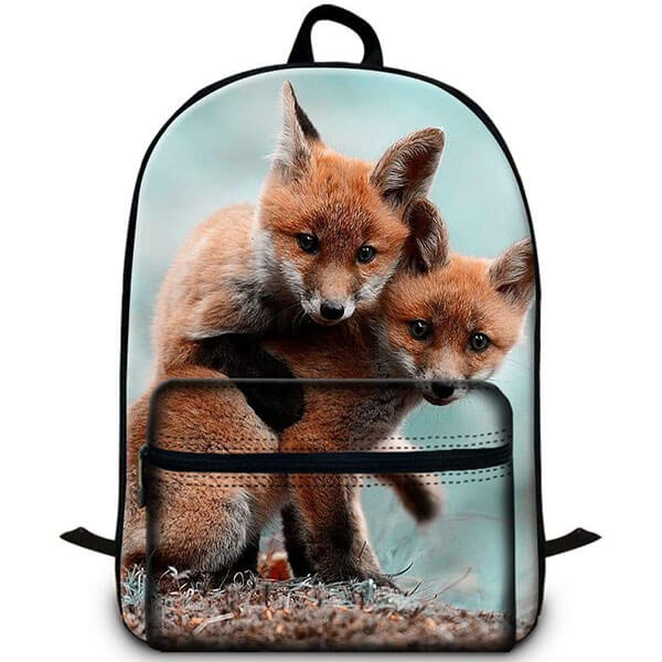 Generic Fox Laptop Backpack