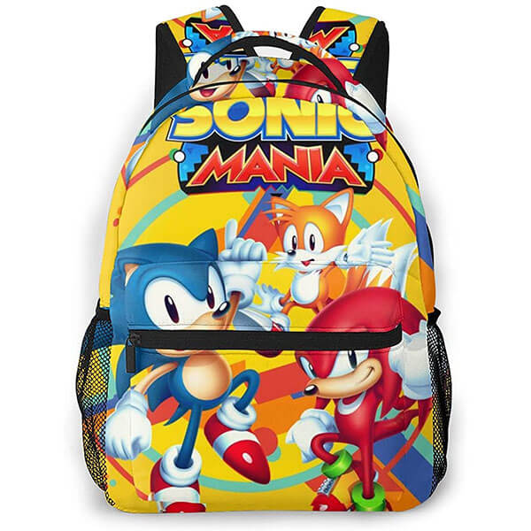 Gliding Knuckles the Echidna Sonic Backpack