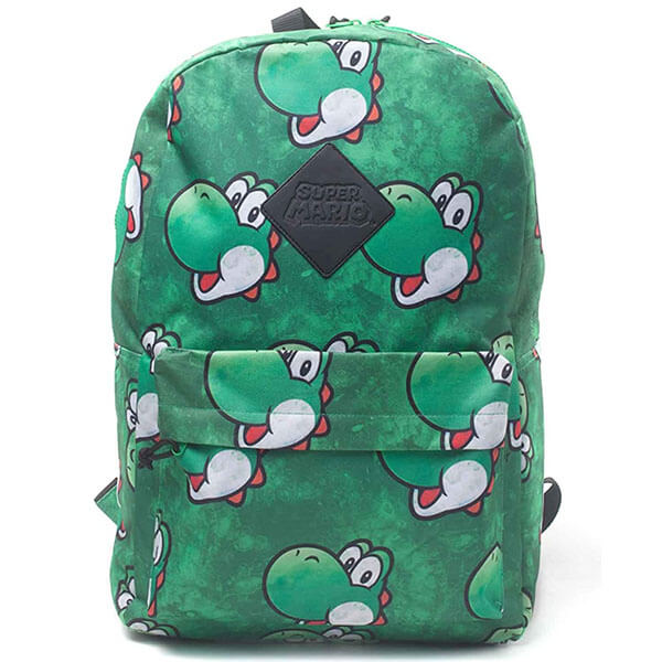 Green Smiling Yoshi Backpack