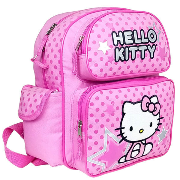 Hello Kitty Backpack with Silver Star