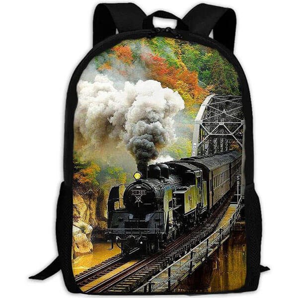 Anti-Scratch Smoke Backpack for Youth