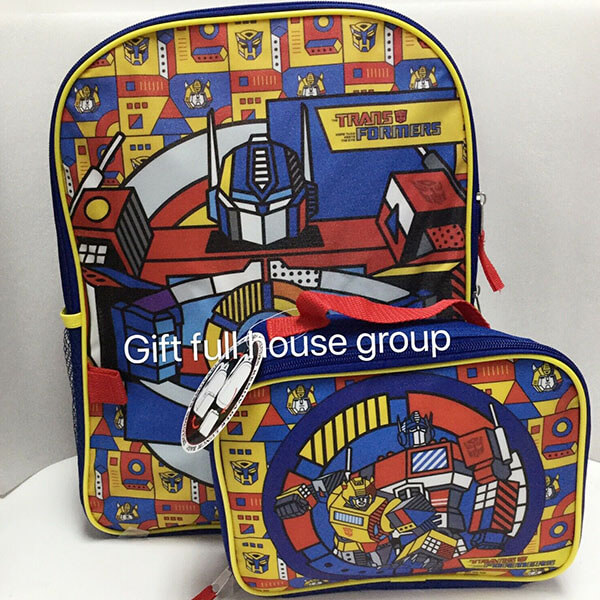 Bumblebee Optimus Prime in Action Backpack Set