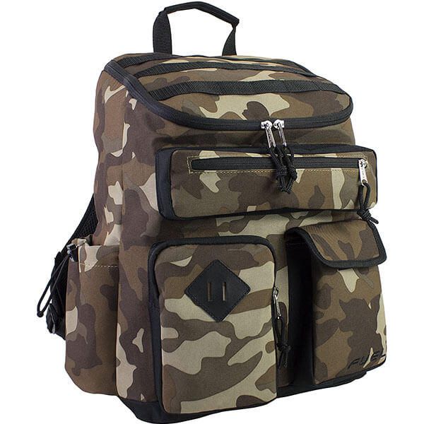 Cargo Hiking Backpack With Many Pockets