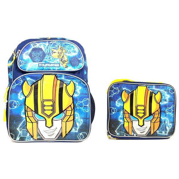 Blue Beetle Backpack with Lunch Bag