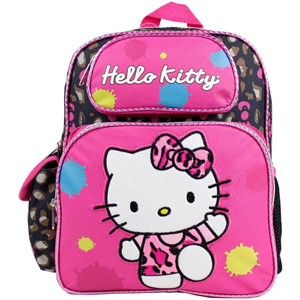 Color Splash Hello Kitty School Backpack
