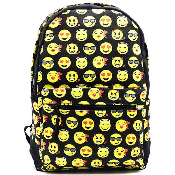 Durable Fashion Emoticon Backpack