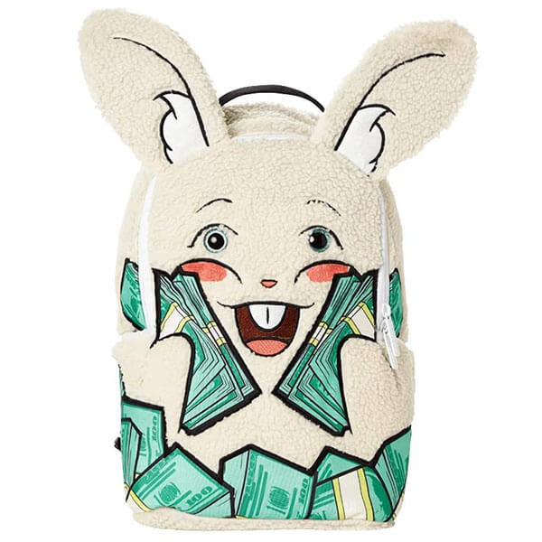 Toy Animal Bunny with Money Backpack