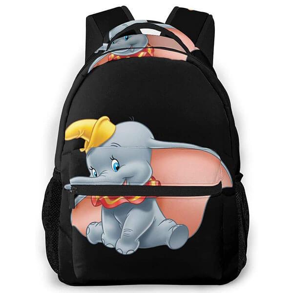 Elegant Black Colored Outdoor Backpack