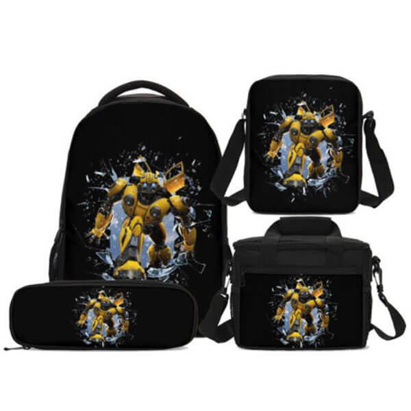 Ergonomic Bumblebee Backpack Set