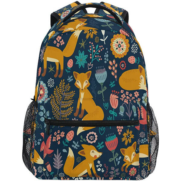 Ethnic Travel Backpack for College
