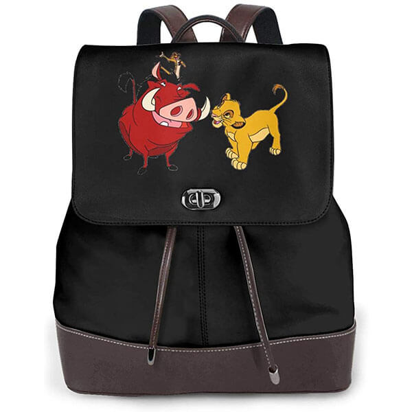 Pumba Holding Timon Lion Backpack