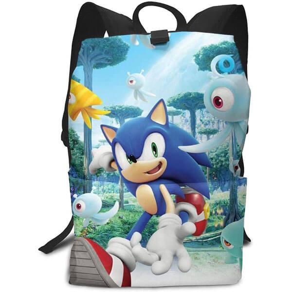 Sonic The Hedgehog On Adventures Backpack