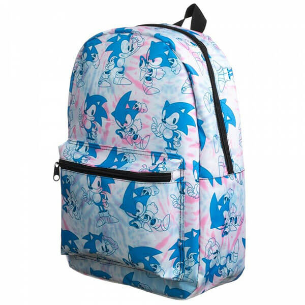 All over Sonic print Backpack