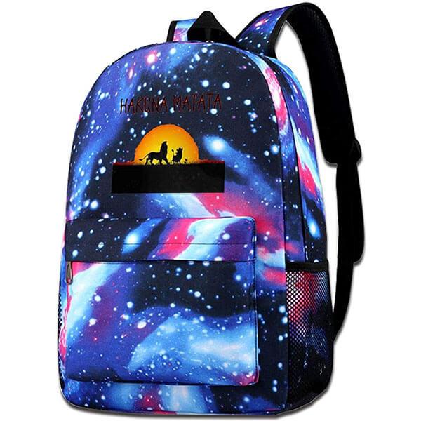 Lion King Backpack with Adjustable Straps
