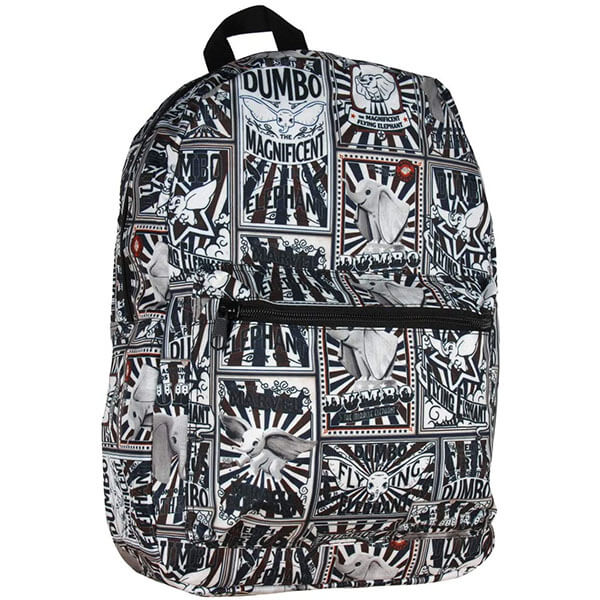 Magnificent Flying Elephant Print Backpack