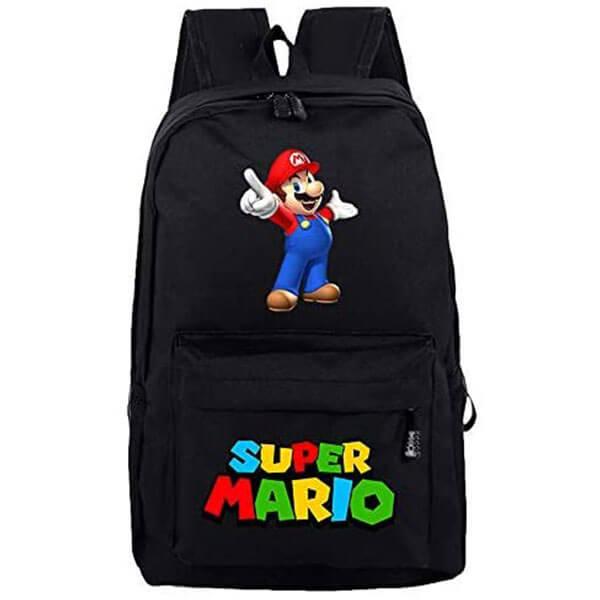 Terylene Light Weight Mario Backpack