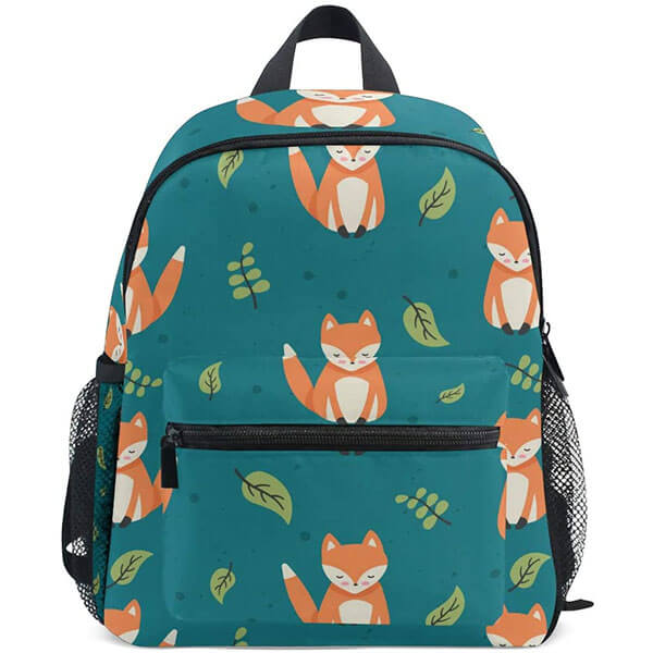 Toddlers Twill Cloth Cartoon Backpack