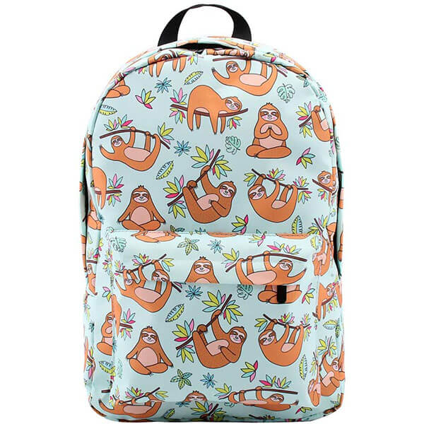 Valley Green Sturdy Sloth Daypack for Teens