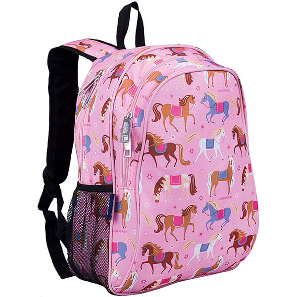 Cute Baby Pink Horse Book Bag