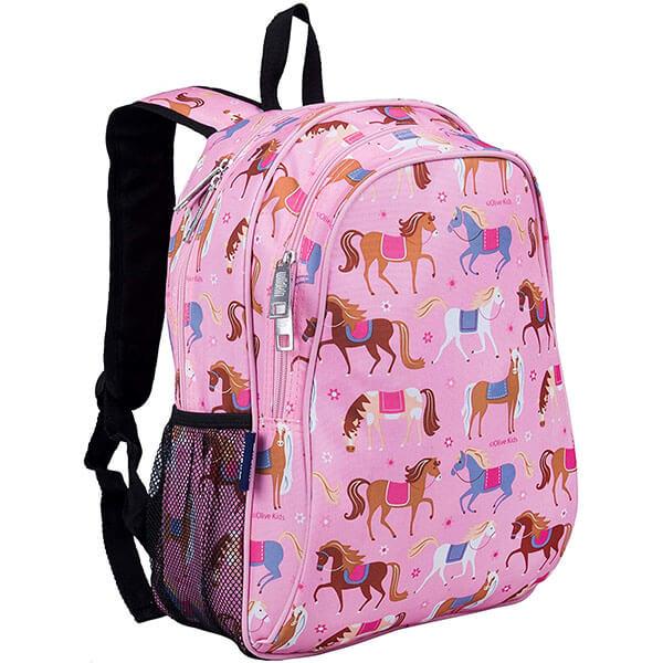 Cute Baby Pink Horse Book Bag