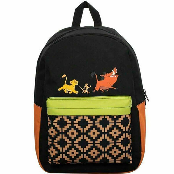 Disney Lion King Backpack with Traditional print