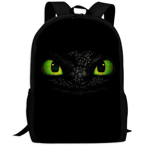 Hypnotized Fury Eyes Backpack