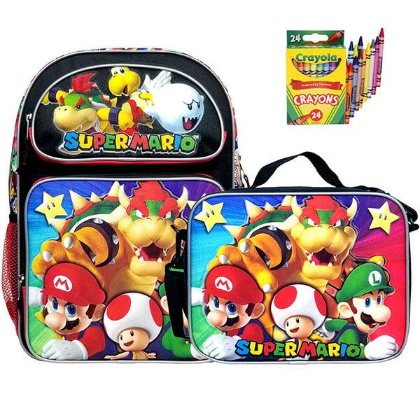 Super Mario Bowser Backpack Set