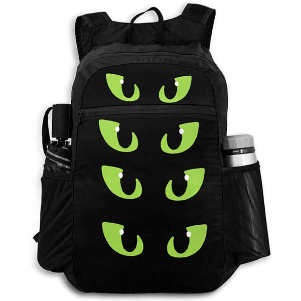 Dragon's Eyes Polyester Backpack