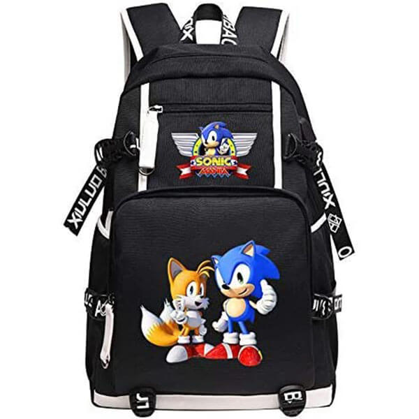 Cute Sonic with Tails Backpack