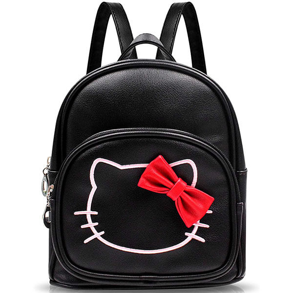 Hello Kitty Mini Backpack with Red Bow