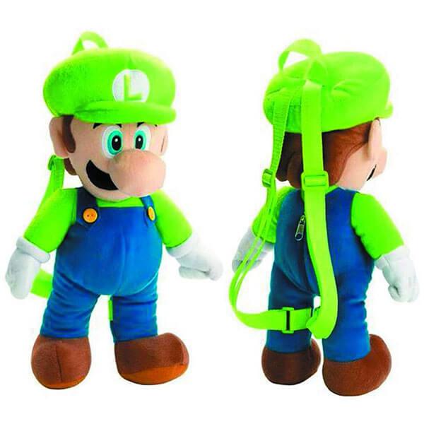 Neon Green Luigi Shaped Backpack