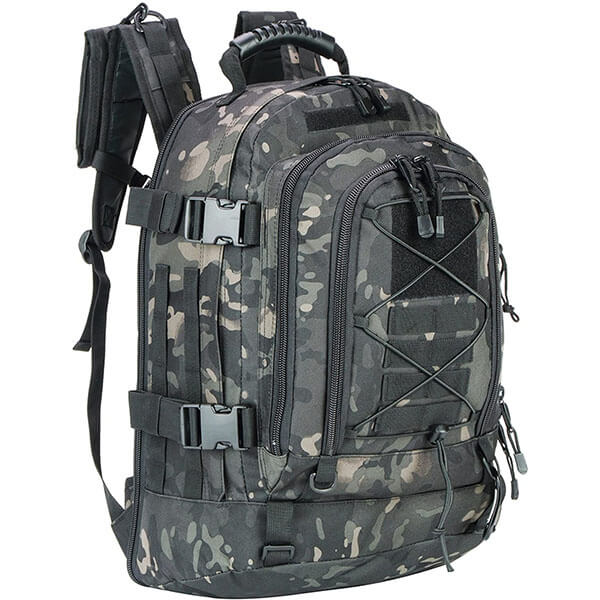 Camouflage Hiking Backpack with Chest Belt