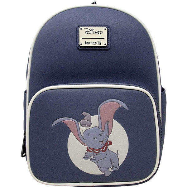 Happy Elephant in the Moonlight Mini Backpack