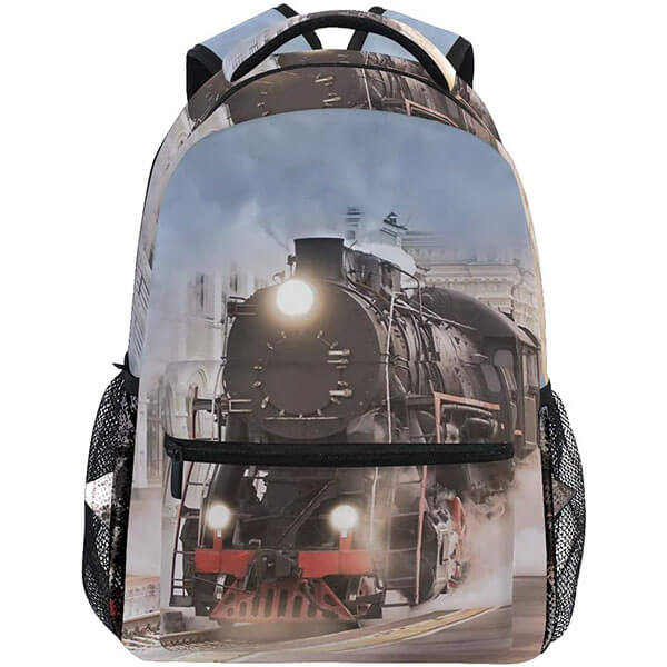 Multifunctional College Backpack for Adolescents