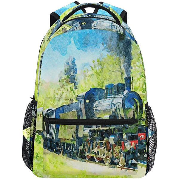 Ancient Steam Durable Backpack for Kids