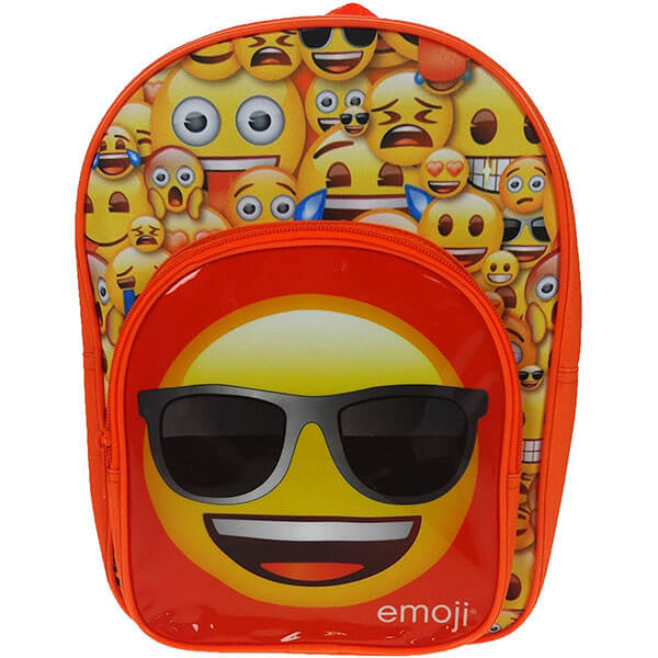 Emoji Face with Sunglass Backpack