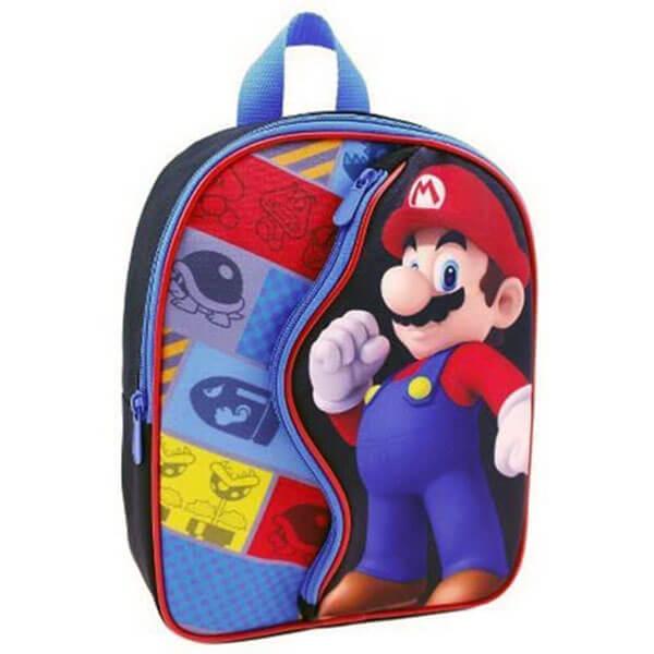 Preschoolers Mario Bookbag