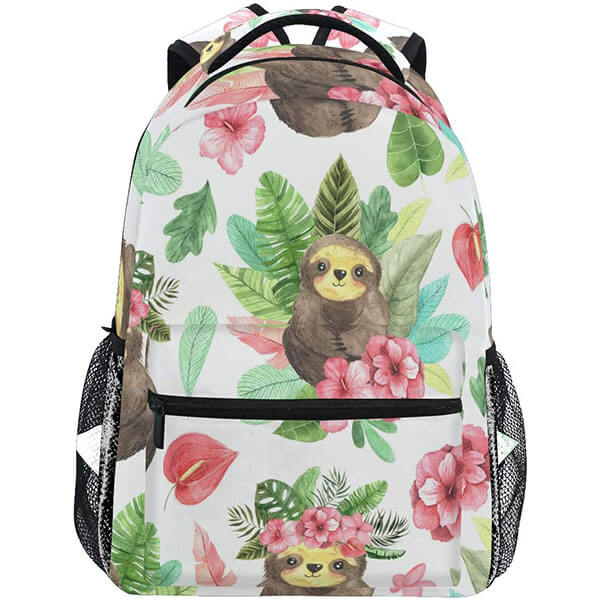Tropical Life Sloth Travel Backpack