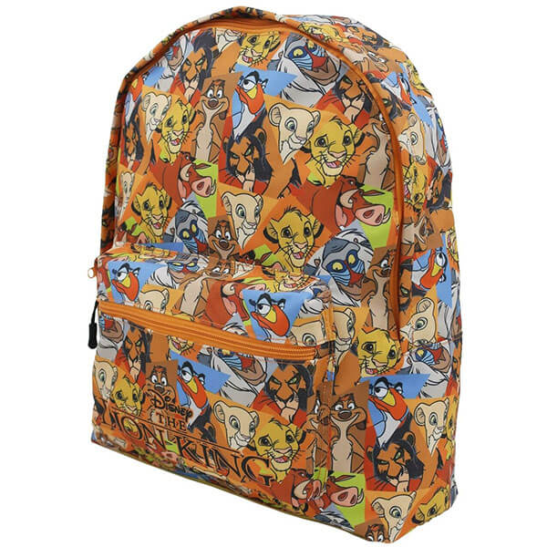 All Over Disney King Lion Backpack Characters Backpack