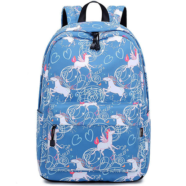 Fly in the Air Blue Colored Backpack