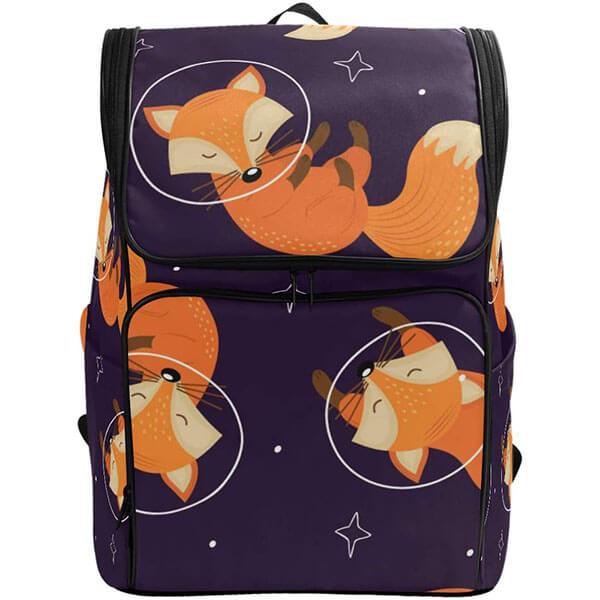 Fox Sleeping at Peace High Schoolers Backpack