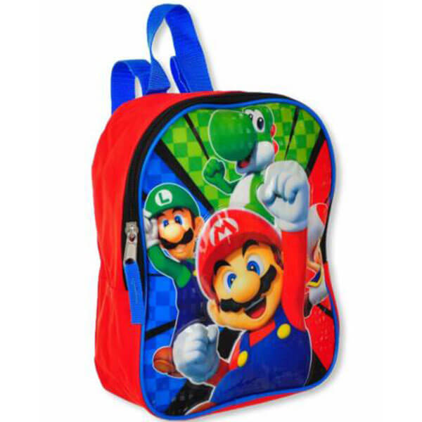 Mini Mario Preschoolers Backpack