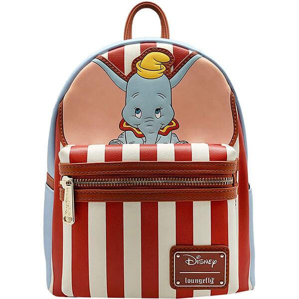 Striped Disney Leather Mini Backpack