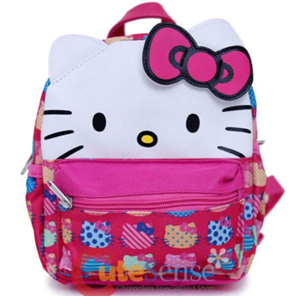 Preschooler Hello Kitty Convertible Backpack
