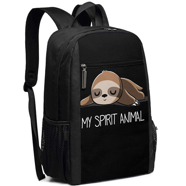 Sloth My Spirit Animal School Backpack