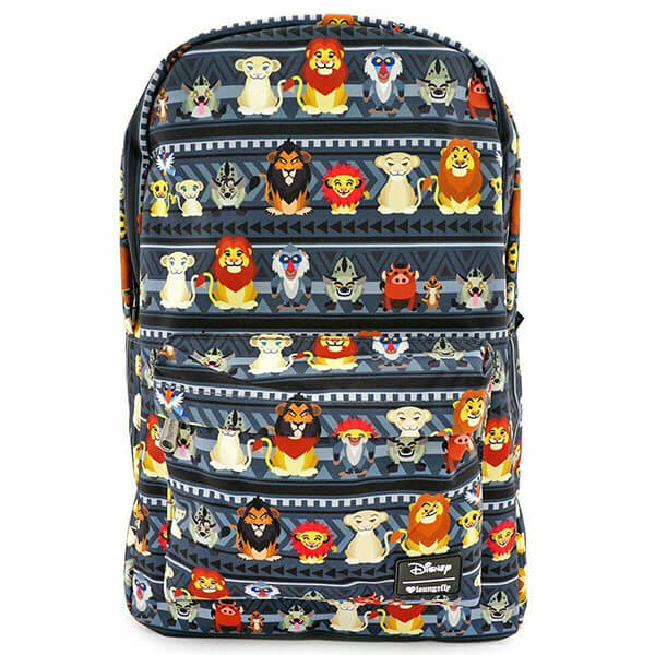 Super Fabric Nylon Lion King Backpack