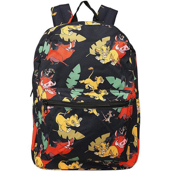 Allover Design Fashionable Backpack