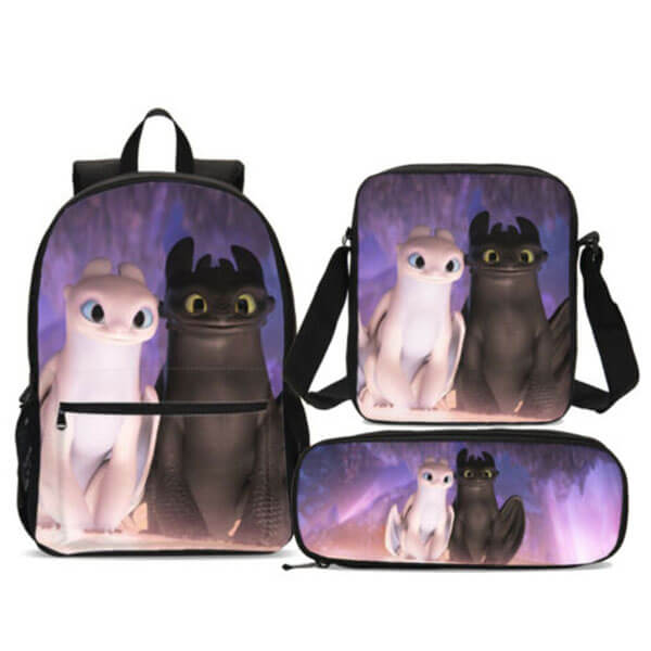 Fury Couple Backpack with Cross Body Bag
